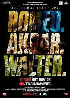 Romeo Akbar Walter First Look Poster 4