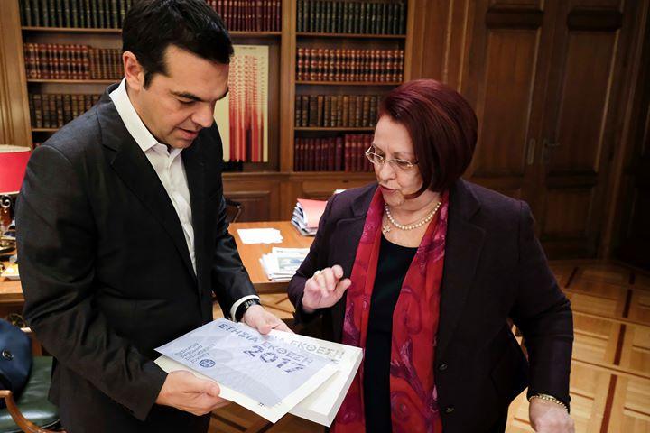 Συνάντηση του Πρωθυπουργού με τη Γενική Επιθεωρήτρια Δημόσιας Διοίκησης