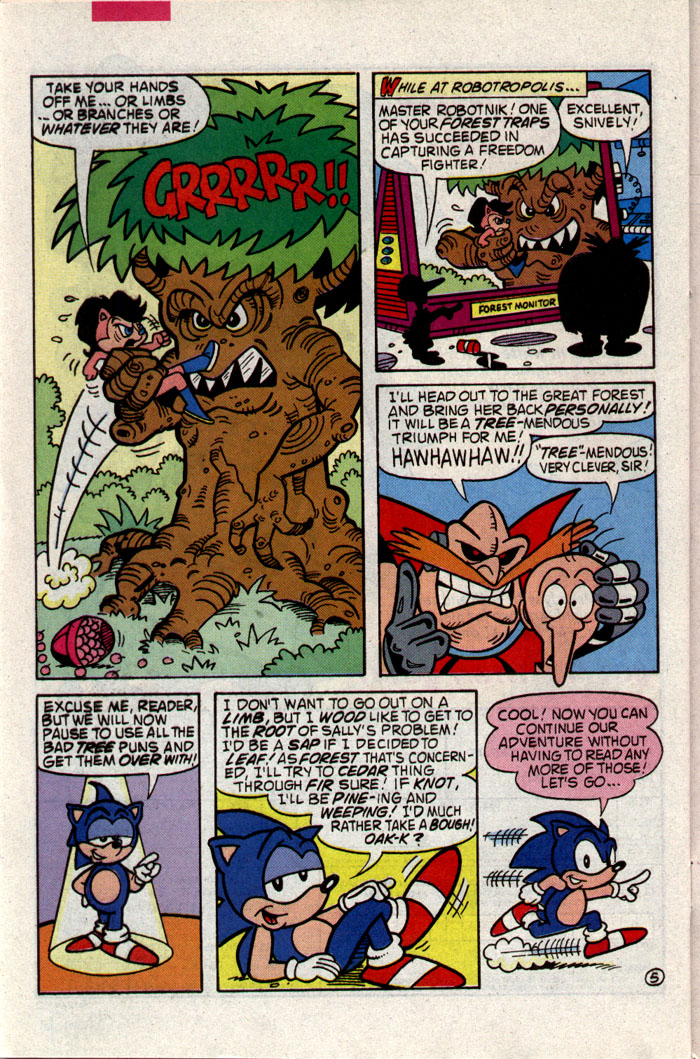 Read online Sonic The Hedgehog comic -  Issue #9 - 19