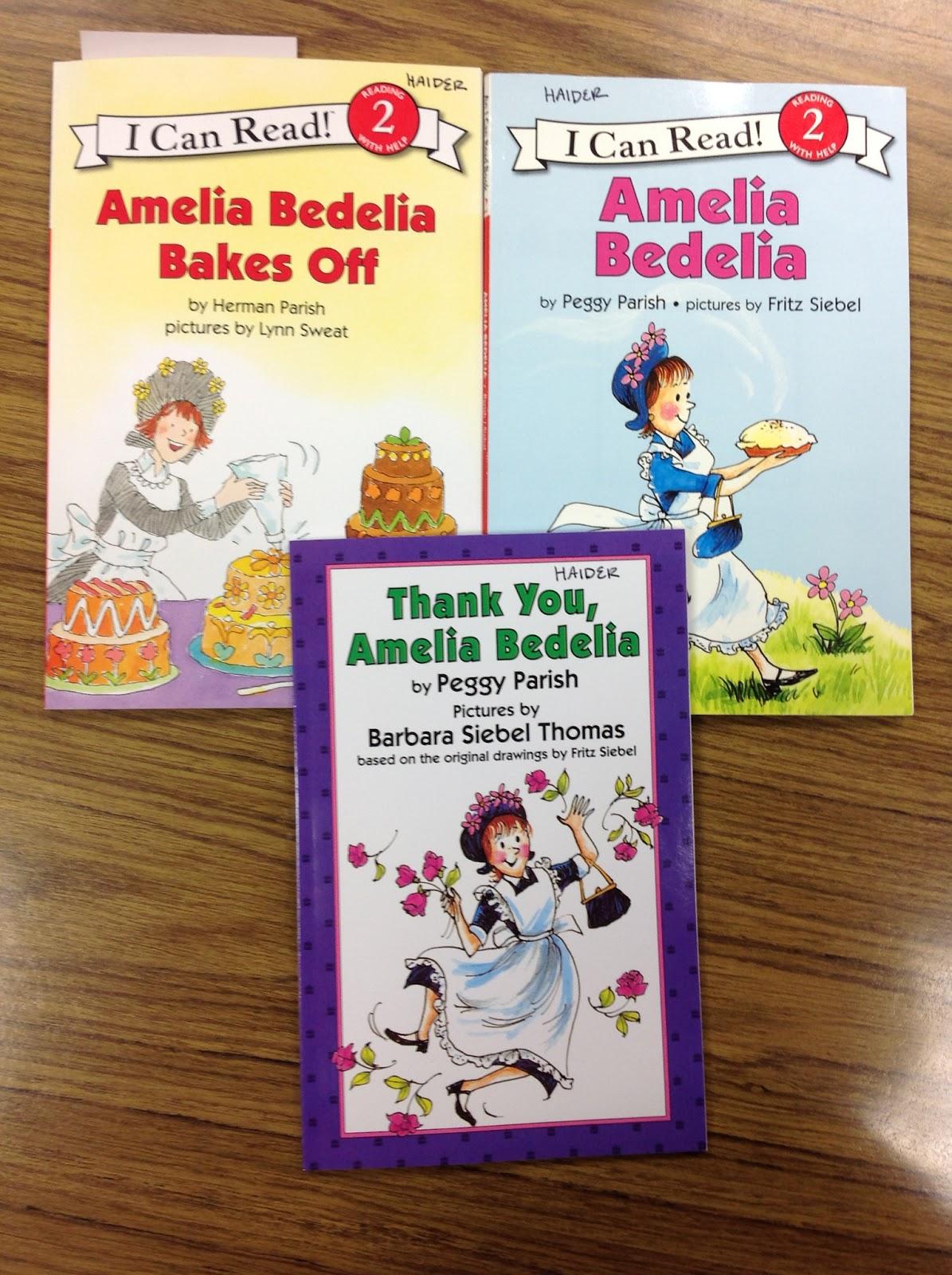 Liz S Speech Therapy Ideas Amelia Bedelia