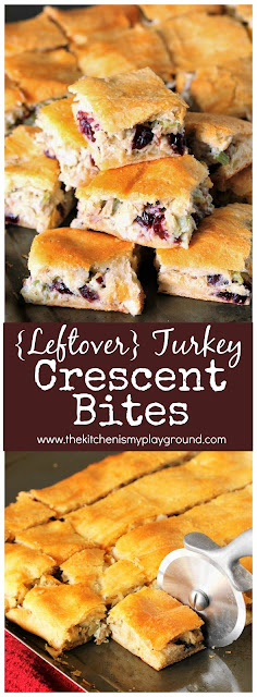 Turkey Crescent Bites picture - great for turkey leftovers