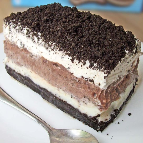 Oreo Delight with Chocolate Pudding #dessert #cake