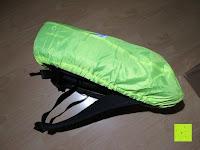 Seite: Regenschutz für Rucksäcke Rucksackschutz Ranzen Regenschutz Rucksackcover Regenüberzug Neon Sicherheitsüberzug Reflektorüberzug
