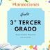 PLANEACIONES 3º TERCER GRADO  MES DE DICIEMBRE 2018-2019