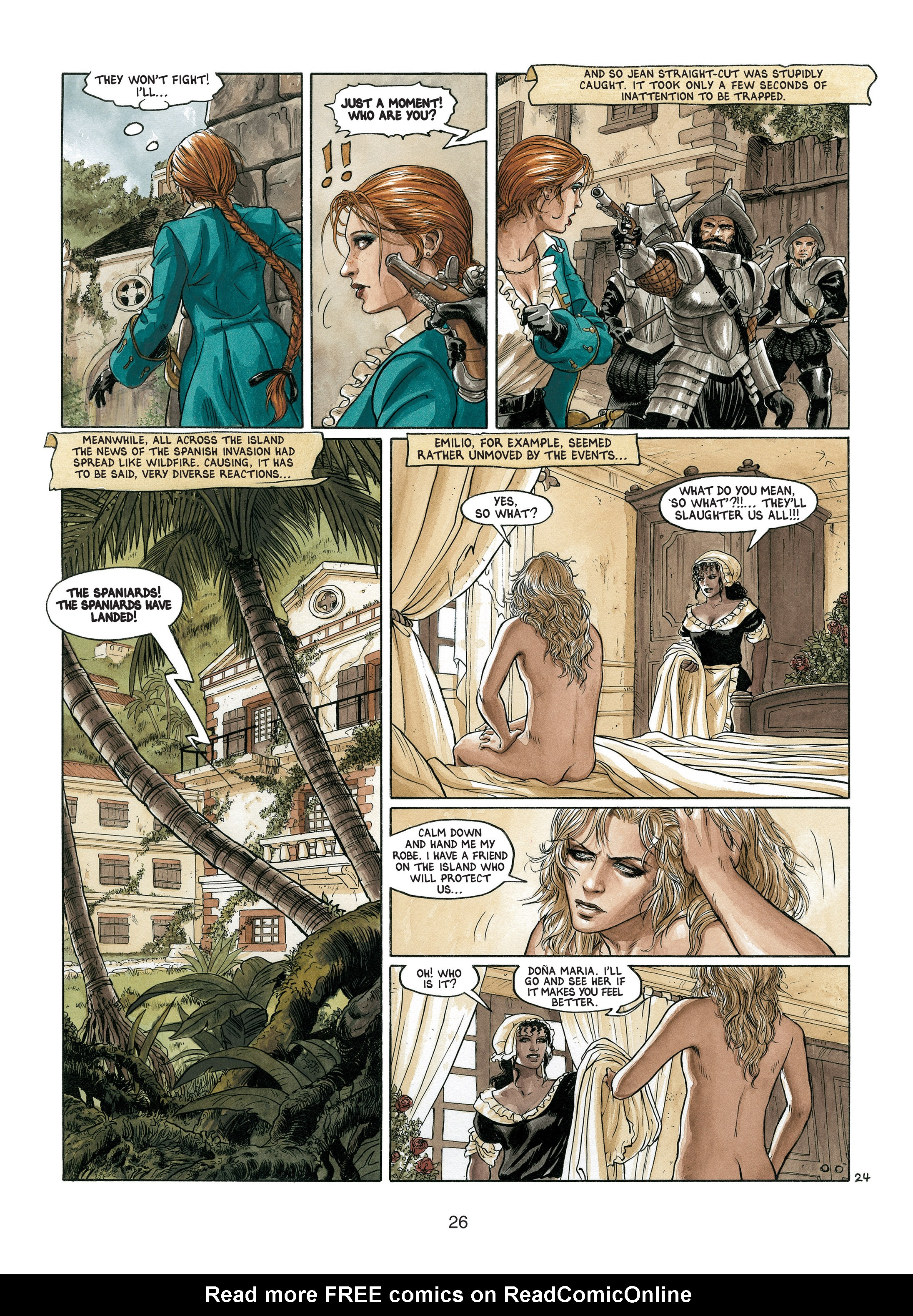 Read online Barracuda comic -  Issue #4 - 27