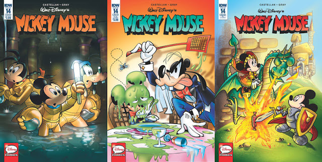 IDW's Mickey Mouse #14 - all cover variants