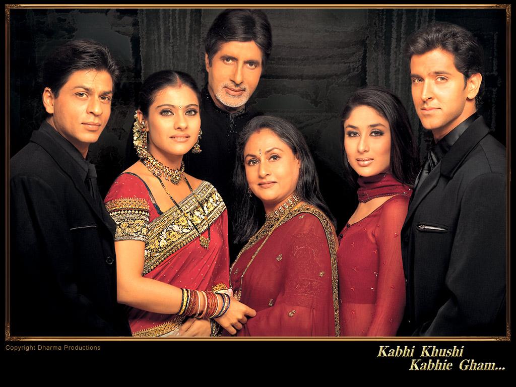 Lyric s Ost Bollywood Movie KABHI KHUSHI KABHI GHAMKajol In Kabhi Khushi Kabhi Gham