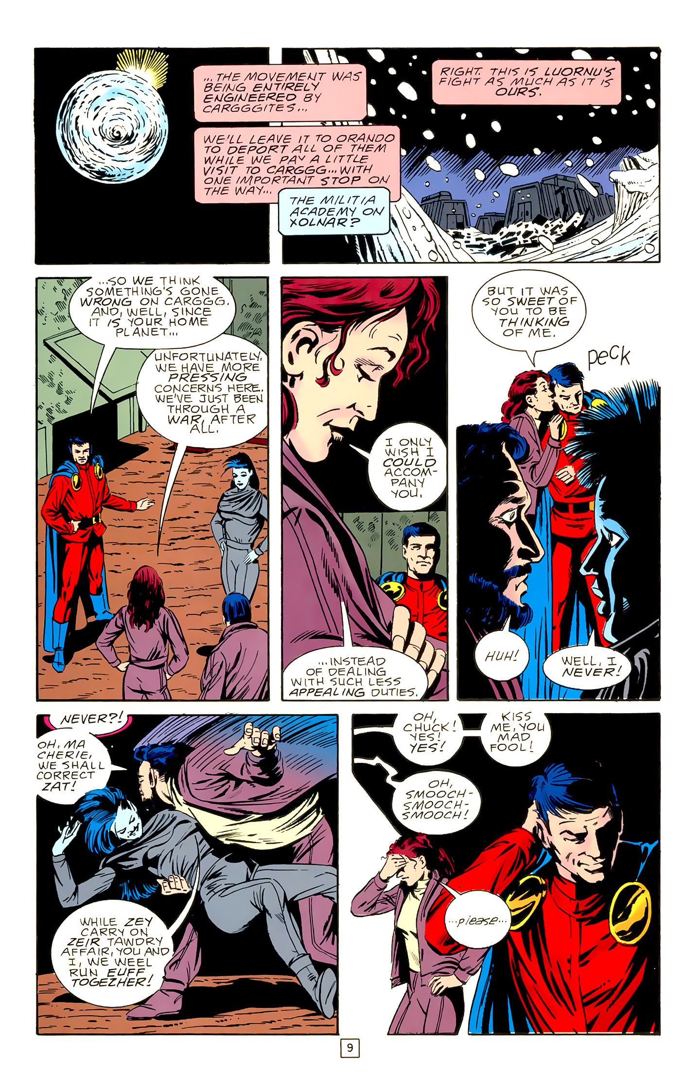 Legion of Super-Heroes (1989) 18 Page 9