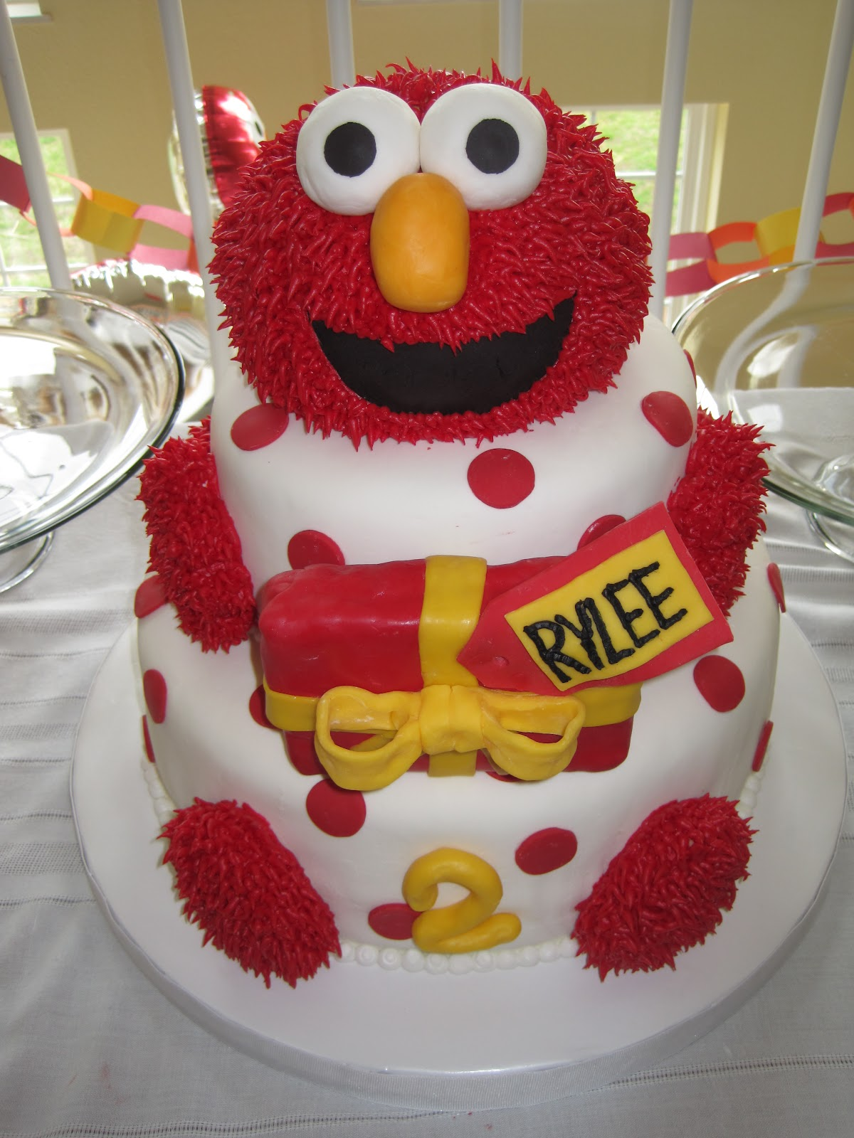 My Lil Bit Of Everything An Elmo Cake