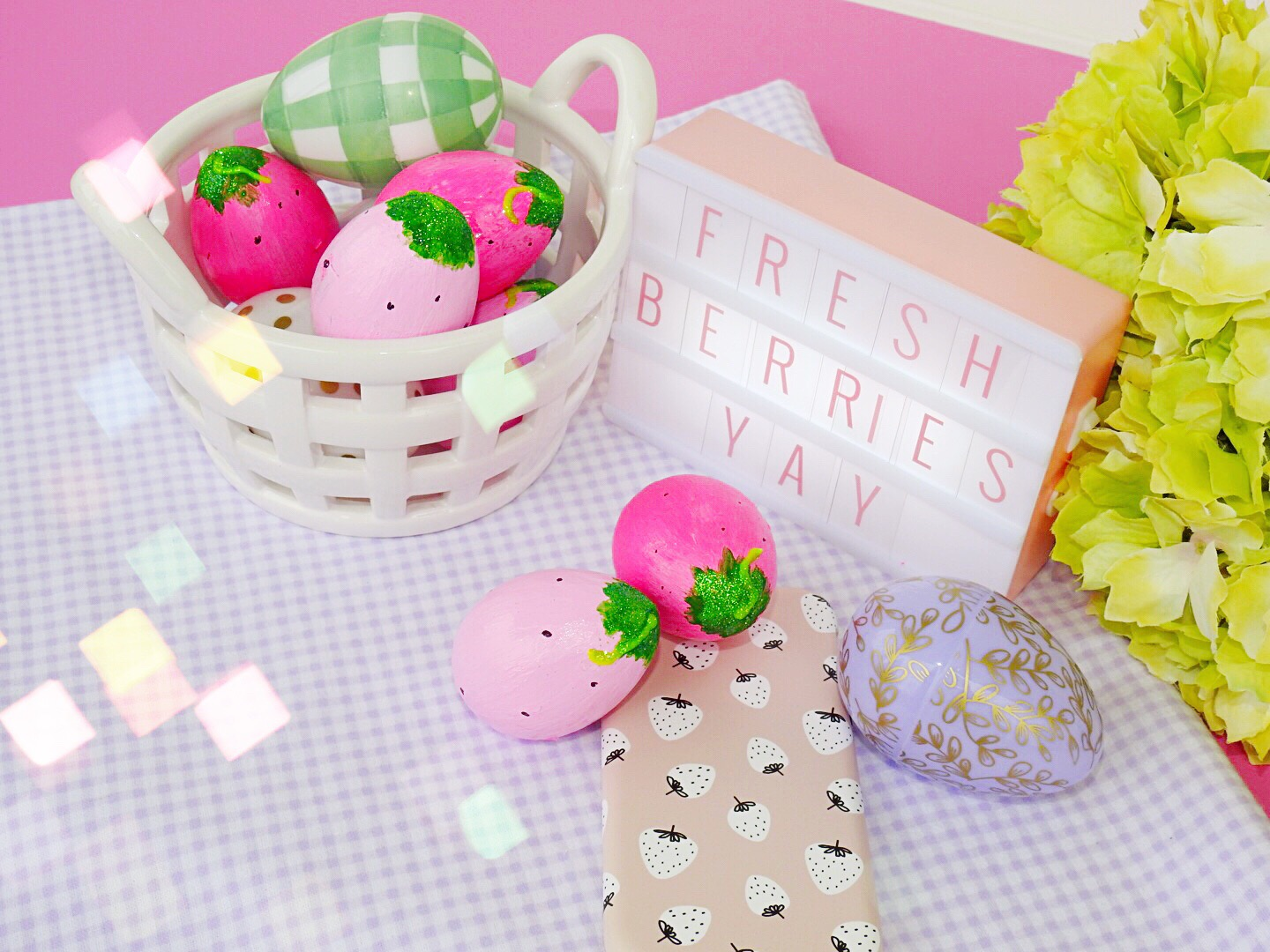 Berry Cute Easter Egg Decorating Ideas: ft Case App | The Yellow ...