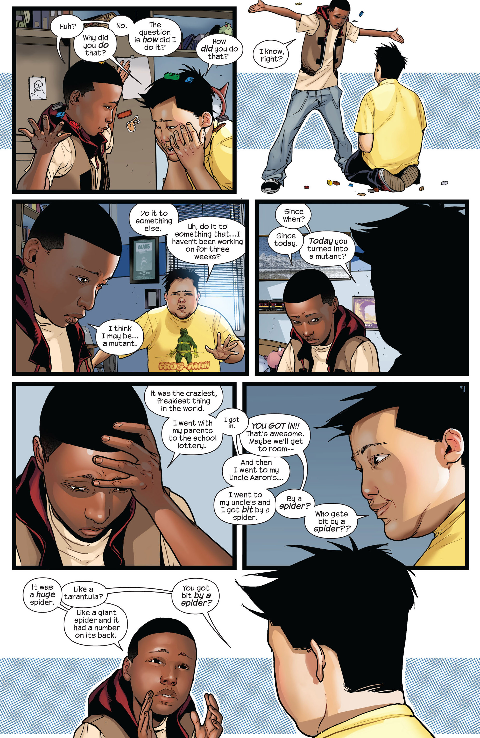 Read online Ultimate Comics Spider-Man (2011) comic -  Issue #2 - 10