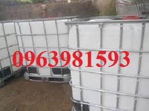 Cung cấp thùng chứa hóa chất, bồn đựng hóa chất, bồn nhựa trắng 1000 lít giá rẻ