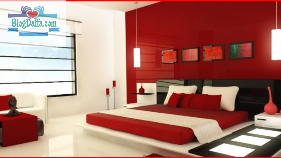 Warna cat kamar tidur maroon