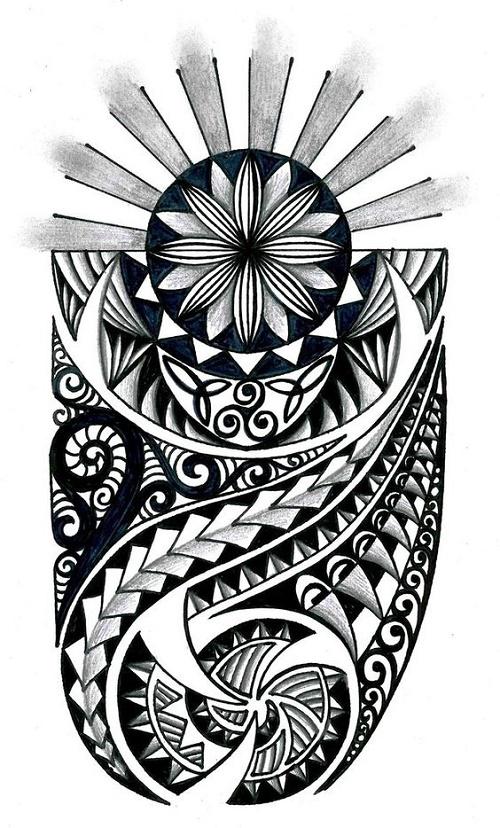 32 Plantillas Diseños Polinesiosmaorie Y Samoano Adn Tatuajes