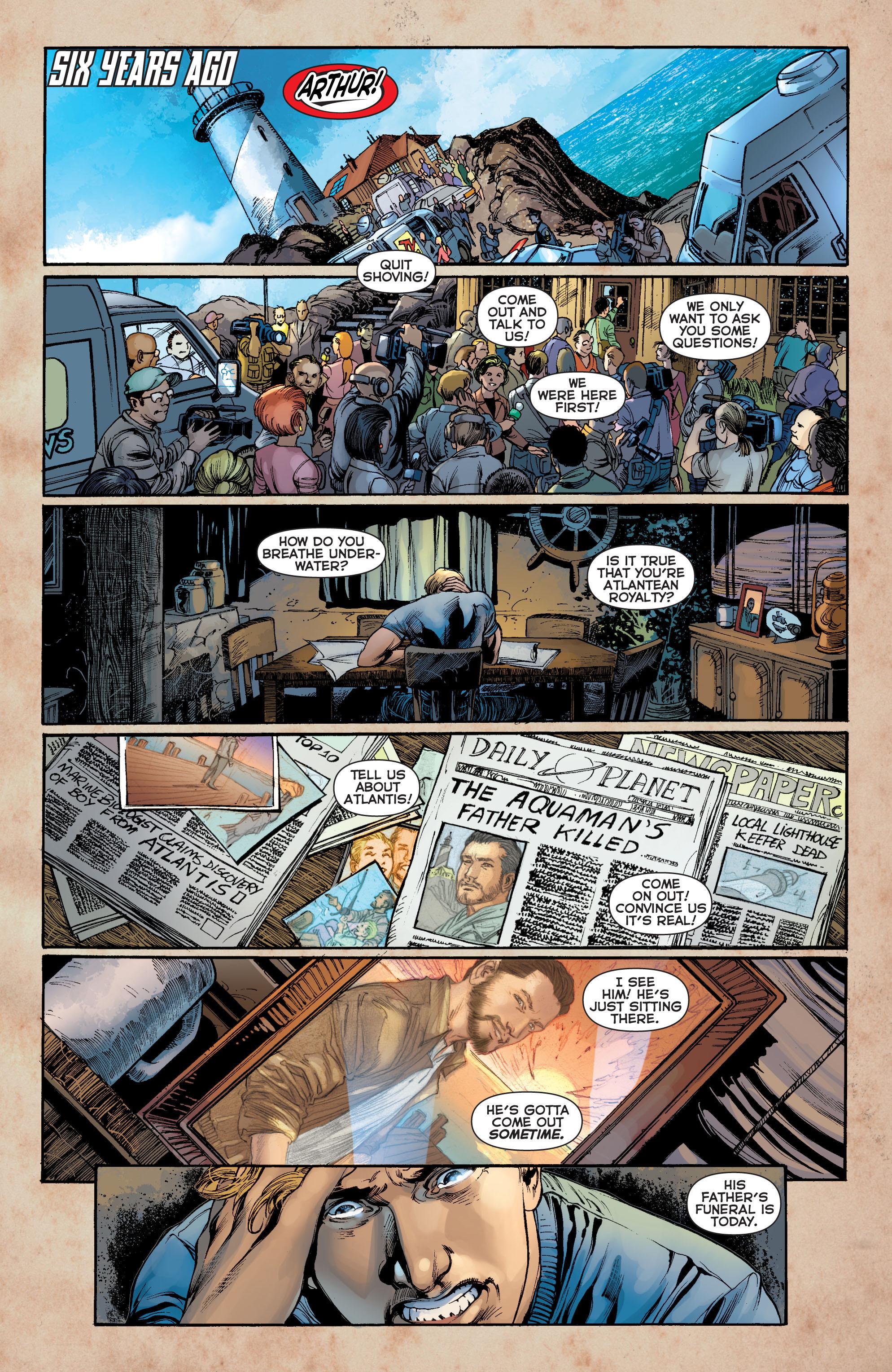 Read online Aquaman (2011) comic -  Issue #8 - 3