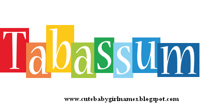 Tabassum name meaning in Urdu and Hindi - Cute baby Girl Names