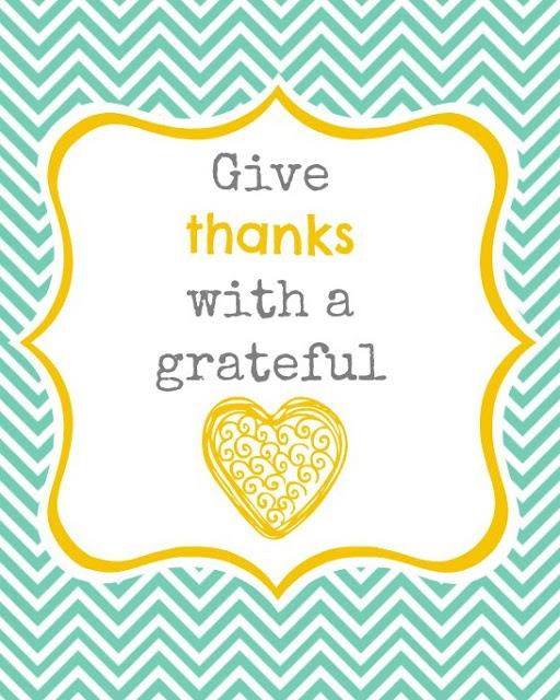 free thanksgiving printables