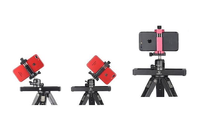 Sunwayfoto M1 Micro Slide + XB-28 Ballhead + CPC-02 bracket