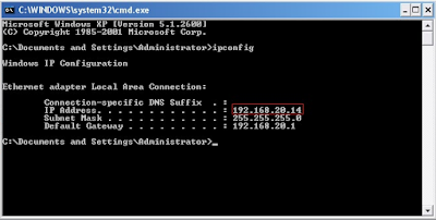 Cara mengetahui IP Address Windows