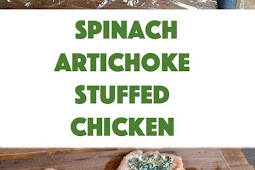 Spinach Artichoke Stuffed Chicken Recipe