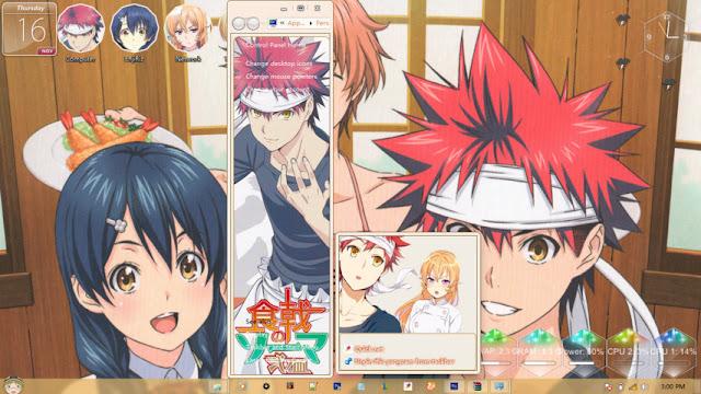 Shokugeki no Souma Theme Win 7 by Enji Riz Lazuardi