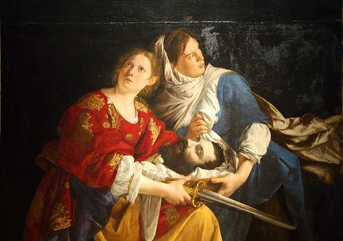 orazio judith - Artemisia Gentileschi - os pintores caravaggescos
