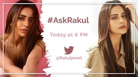 #ManoranjanMetro : आज शाम को छह बजे आपके सवालों का जवाब देंगी @Rakulpreet