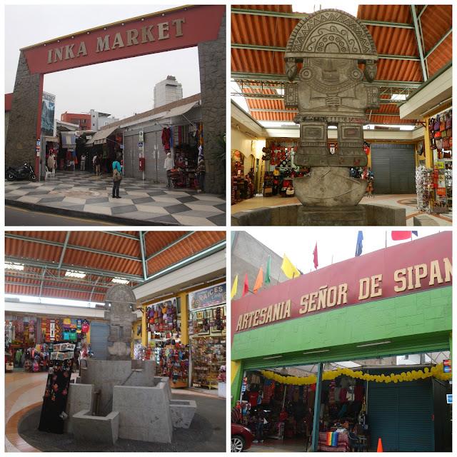 mercados de artesanato em Lima, Peru