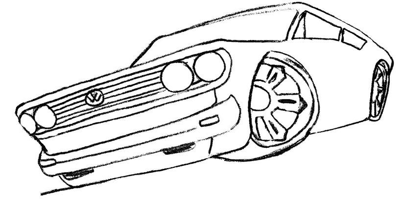 Desenho Para Colorir De Carros Disney: Carros, Desenhos De Carros Para Colorir
