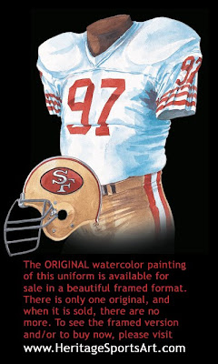 San Francisco 49ers 1989 uniform