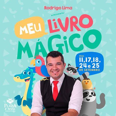 """Mágico Rodrigo Lima lança """"Meu Livro Mágico"""""""