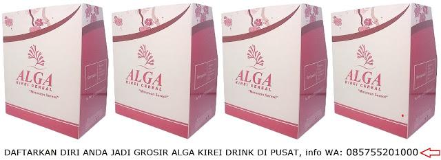 DISTRIBUTOR JUAL ALGA KIREI DRINK DI SURABAYA SIDOARJO JAKARTA