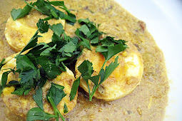 Goan Egg Curry with Tamarind and Coconut