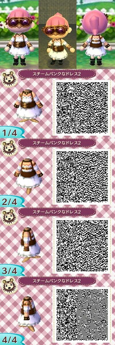 Animal Crossing New Leaf Steampunk Steam Punk Dress Qr