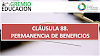 CLÁUSULA 88. PERMANENCIA DE BENEFICIOS