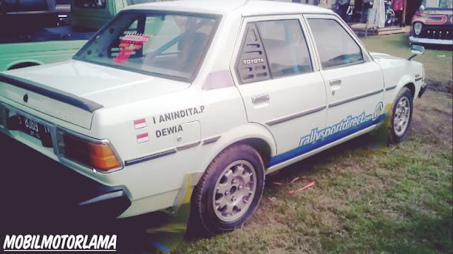 Modifikasi Corolla DX Retro Rally Style samping
