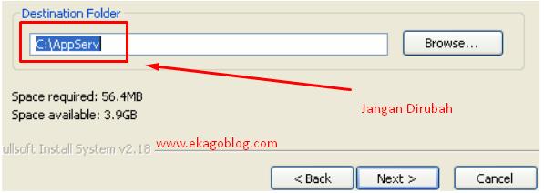 Tutorial Mudah Install Webserver AppServ