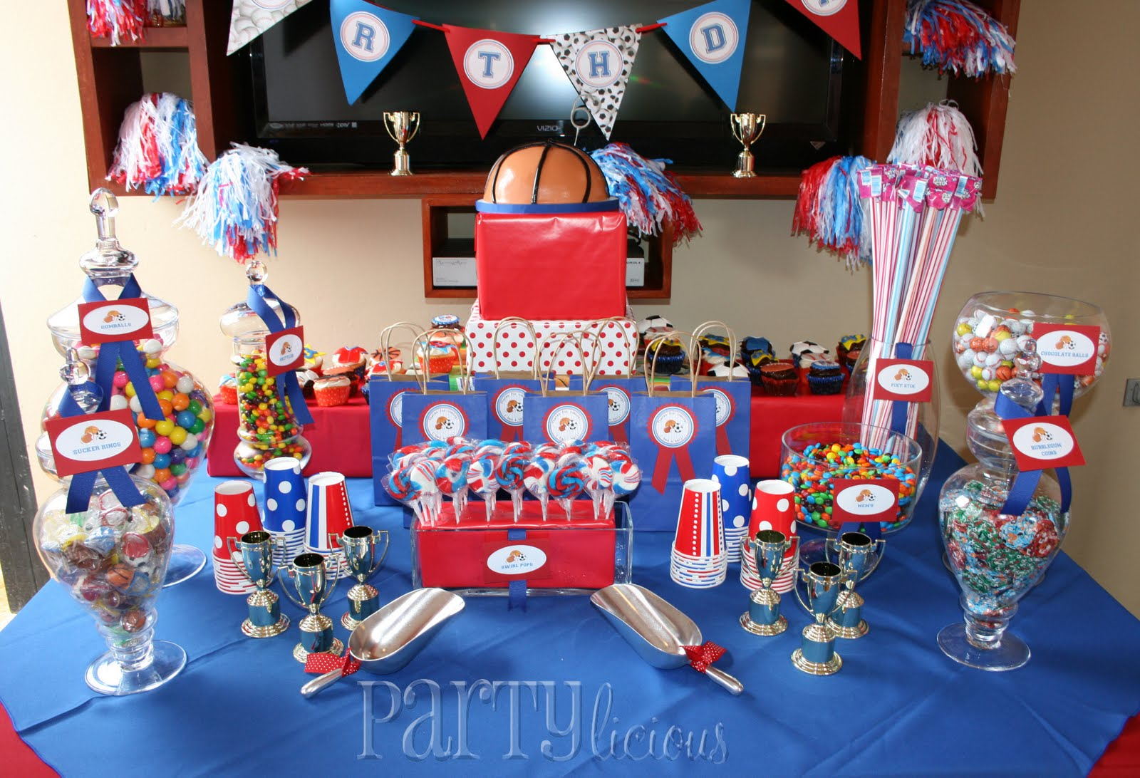 Partylicious Events PR: {All Star Birthday}