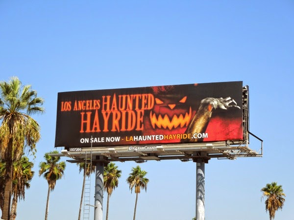 Los Angeles Haunted Hayride billboard 2014