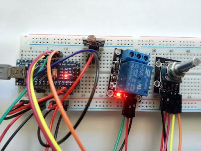Releu activat de lumină sau întuneric cu Arduino