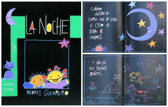 libro infantil superar miedo oscuridad: la noche Guerrero