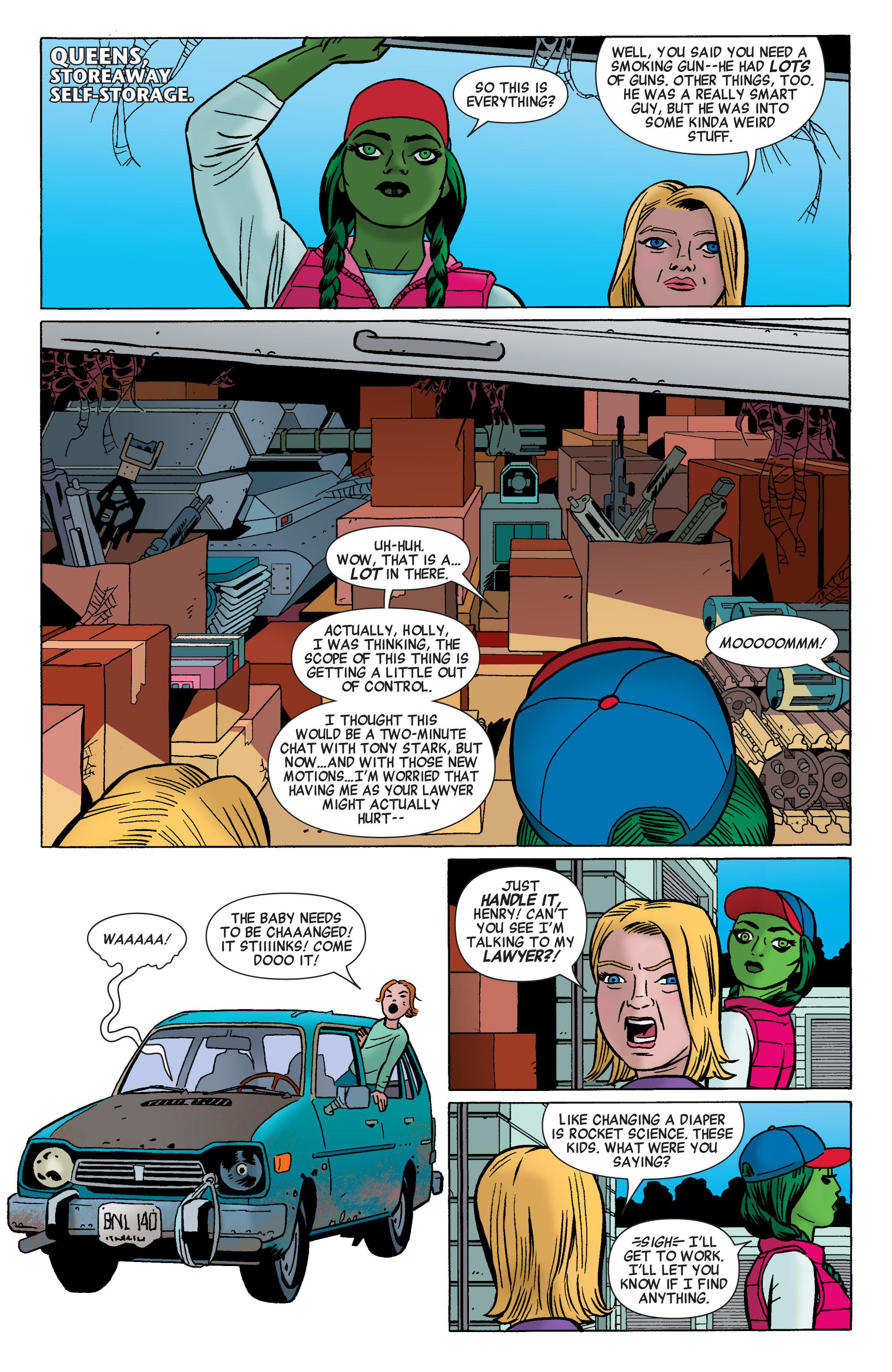 Read online She-Hulk (2014) comic -  Issue #1 - 14
