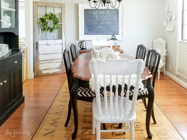 Refinishing A Dining Table Diy Beautify Creating Beauty At Home