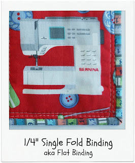 Single Fold Binding tute by www.madebyChrissieD.com