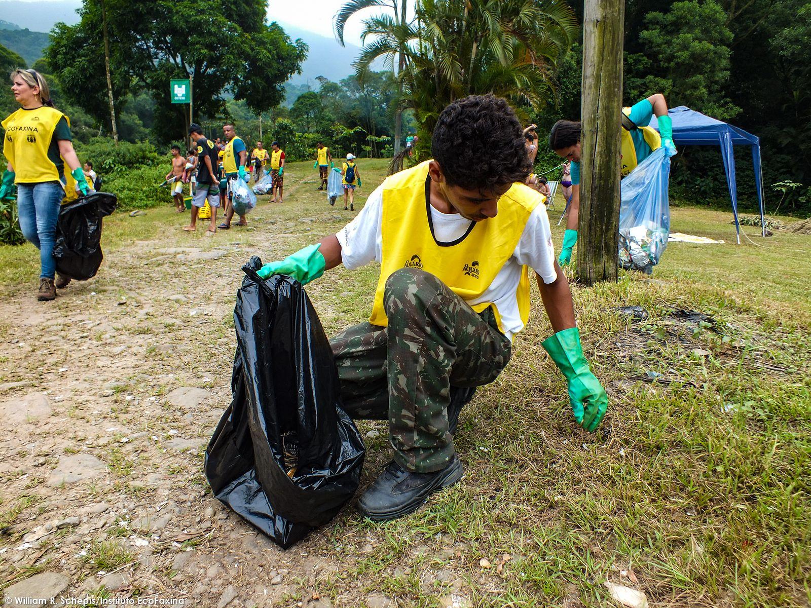 80ª Ação Voluntária EcoFaxina