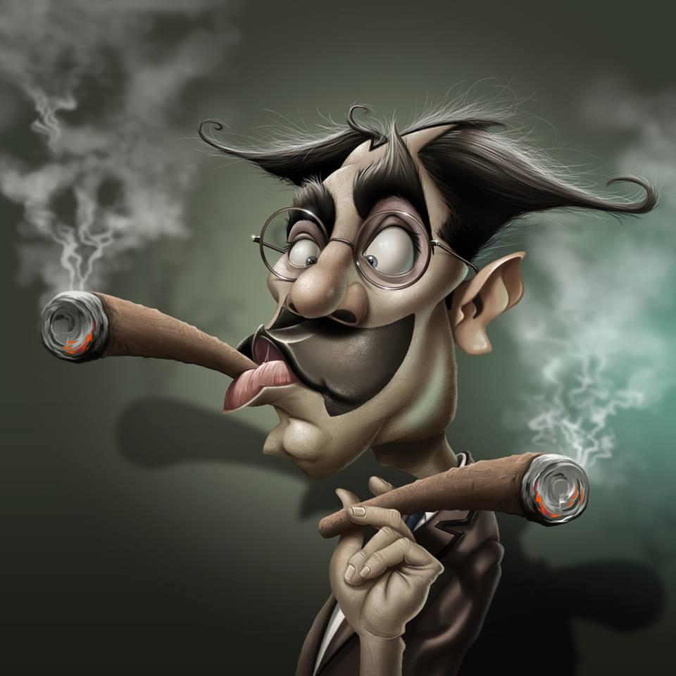 Groucho Marx por Fernando Buigues