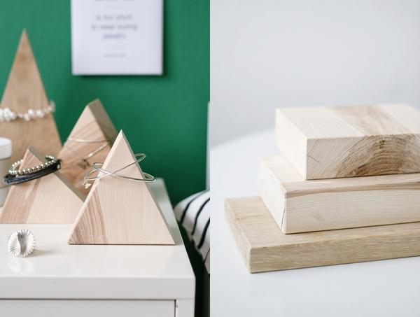 das beste aus resten holzpyramiden zur. Black Bedroom Furniture Sets. Home Design Ideas