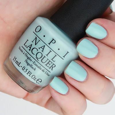 OPI Nail Lacquer in Suzi Without A Paddle Fiji Spring Summer 2017 Collection review swatch swatches