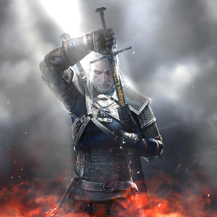 The Witcher 3 Geralt 4k Wallpaper Engine Download