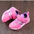 Giày thể thao nữ hồng trẻ em bán buôn bán sỉ
